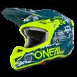 Oneal 5series HR motocross sisak sárga/kék - RideShop.hu webshop