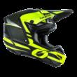 Oneal 5series Sleek motokrossz sisak fekete-sárga - RideShop.hu
