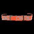 Oneal B10 Twoface zárt szemüveg víztiszta lencsével szürke-narancs