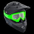 Oneal B-Zero krossz szemüveg zöld víztiszta lencsével - RideShop.hu webshop