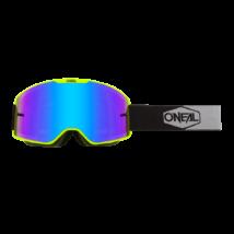 B20 Plain cross szemüveg fekete kék lencsével