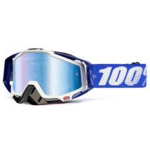 Racecraft Cobalt Blue krossz szemüveg tükrös lencsével