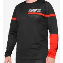 100% R-Core downhill mez fekete-piros - RideShop.hu