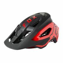 FOX Speedframe Pro MIPS kerékpáros sisak fekete-piros - RideShop.hu