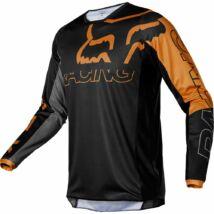 Fox 180 Skew hosszú ujjas mez fekete-arany - RideShop.hu