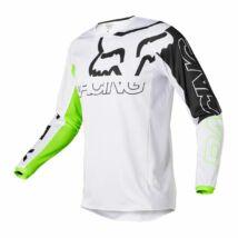 Fox 180 Skew hosszú ujjas mez fehér - RideShop.hu