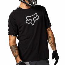 Fox Ranger Dr enduro kerékpáros rövid ujjas mez fekete