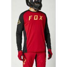 FOX Defend hosszú ujjú mez piros