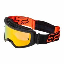 Fox Main Stray zárt szemüveg fekete-narancs tükrös lencsével - RideShop.hu