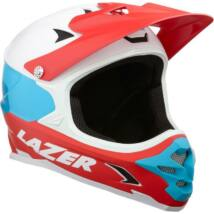 Lazer Phoenix+ kerékpáros downhill sisak fehér-piros