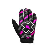 MTB hosszú ujjas kesztyű fekete-pink