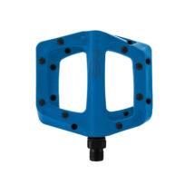 Bistro műanyag pedál fém szegecsekkel kék