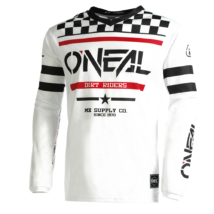 Oneal Element Squadron hosszú ujjas mez fehér - RideShop.hu