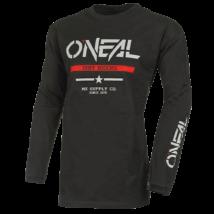 Oneal Element Squadron hosszú ujjas pamut mez fekete - RideShop.hu