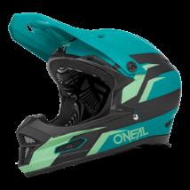 Oneal Fury Stage V22 kerékpáros fullface sisak kékeszöld - RideShop.hu