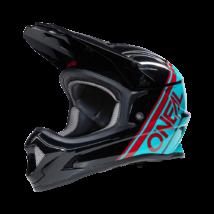 ONeal Sonus Split kerékpáros fullface sisak fekete-kék - RideShop.hu