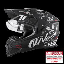 Oneal Sierra Torment motoros sisak plexivel - RideShop.hu
