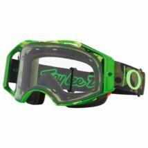 Oakley Airbrake Troy Lee Designs zárt szemüveg zöld Prizm lencsével