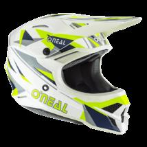 3series Triz motocross sisak fehér/sárga