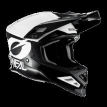 8series 2T motocross sisak fekete