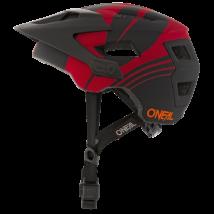 Oneal Defender Nova kerékáros sisak fekete-vörös - RideShop.hu