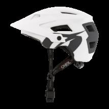 Oneal Defender Solid kerékáros sisak fehér-szürke - RideShop.hu webshop