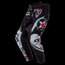 Element Warhawk hosszú cross nadrág fekete/szürke