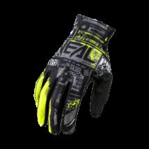 Matrix Ride kesztyű fekete-neon sárga
