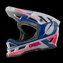 Blade Polyacrylite Ace kerékpáros sisak szürke-kék-piros