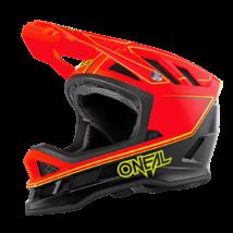 Blade Charger kerékpáros fullface sisak neon piros színben