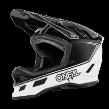 Blade Charger kerékpáros fullface sisak fekete-fehér