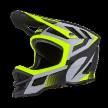 Blade Hyperlite Ipx Oxyd kerékpáros downhill sisak szürke-zöld