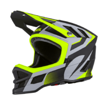 Oneal Blade Hyperlite Ipx Oxyd kerékpáros downhill sisak szürke-zöld