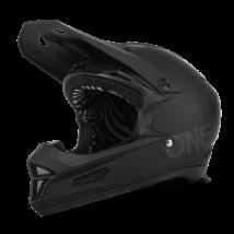 Fury Solid kerékpáros downhill fullface sisak matt fekete