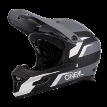 ONEAL Fury Stage kerékpáros full face sisak fekete-szürke  RideShop.hu