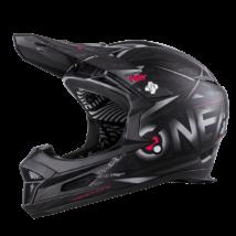 Fury Synthy kerékpáros fullface sisak fekete