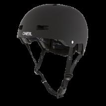 ONeal Dirt Lid Solid kerékpáros sisak fekete