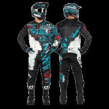 Element Ride krossz szett (nadrág+mez) fekete-kék