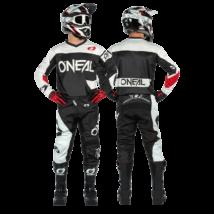 Element Racewear 2021 krossz szett (nadrág+mez) fekete-fehér