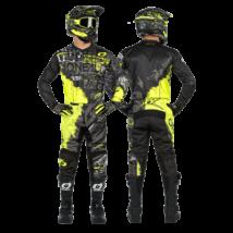 Element Ride krossz szett (nadrág+mez) szürke-neon sárga