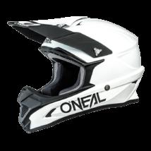 Oneal 1Series Solid motocross sisak matt fehér RideShop.hu
