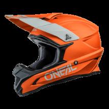 1Series Solid motocross sisak matt narancs