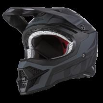 3series Hybrid motokrossz sisak fekete-szürke