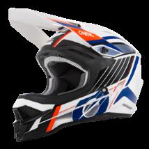 3series Vision motokrossz sisak fehér-kék