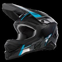 3series Vision motokrossz sisak fekete-kék
