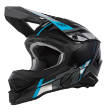 Oneal 3series Vision motokrossz sisak fekete-kék RideShop.hu