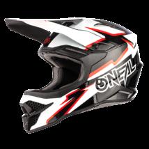Oneal 3series Voltage motokrossz sisak fekete-fehér - RideShop.hu