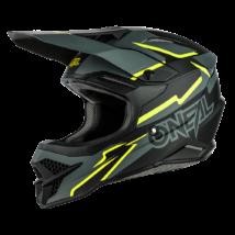 Oneal Motocross 3series Voltage motokrossz sisak fekete-neon sárga