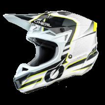 5series Sleek motokrossz sisak fehér