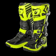 RMX motokrossz csizma neon sárga